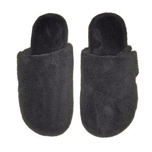 Used Podiatrist designed fuzzy orthotic slippers